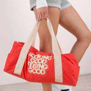 ban.do Looking Good Feeling Good Red Gym Bag